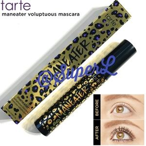 2/$30 Tarte maneater voluptuous mascara black